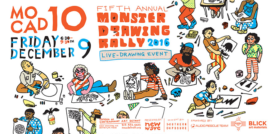 monster drawing rally 2016