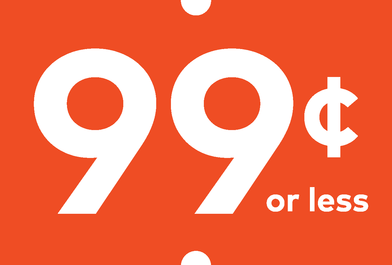 99 Cents or Less Logo