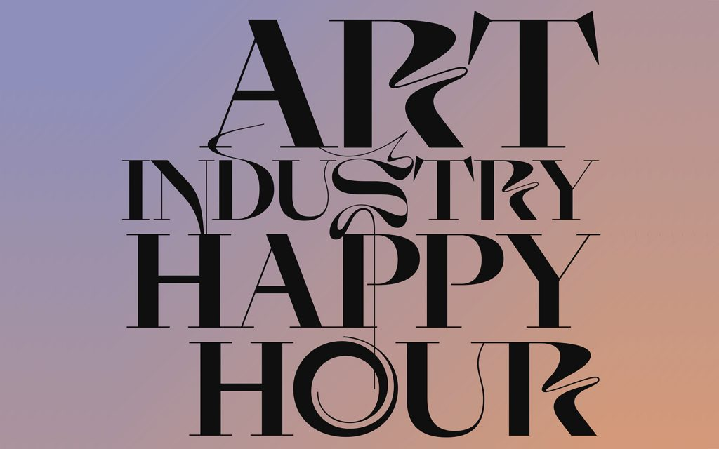 Art Industry Happy Hour Poster