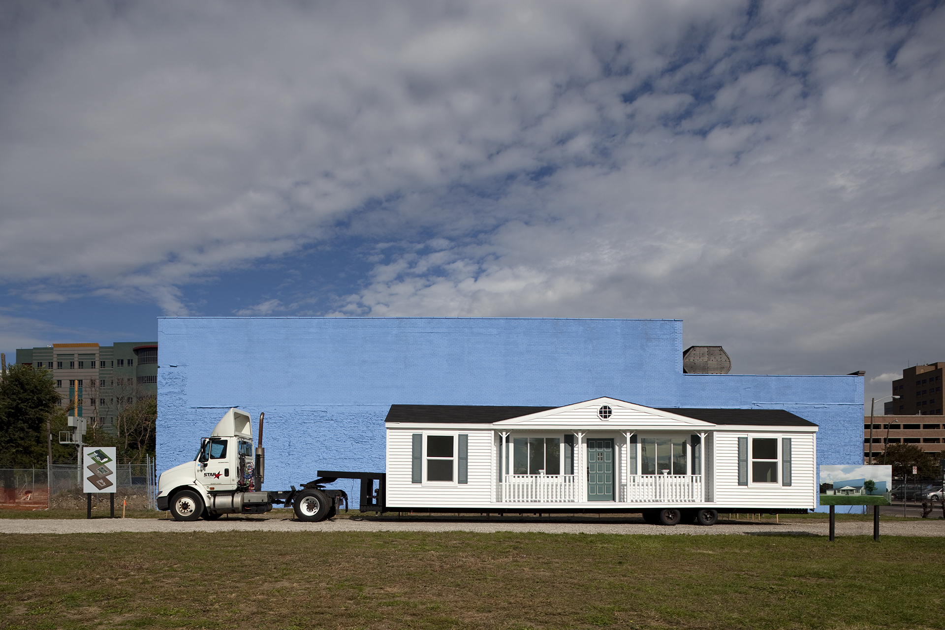 Mobile Homestead ready to hit the road, 2010