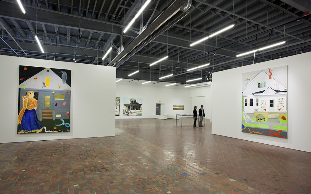 Installation view of Nancy Mitchnick's 'Uncalibrated' at MOCAD, 2016