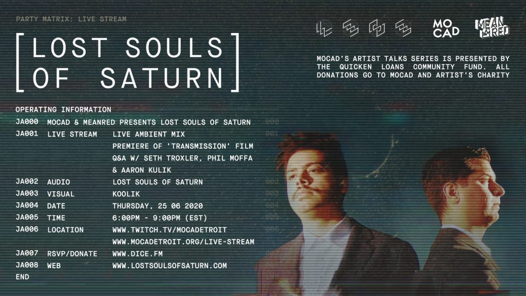 LOST SOULS OF SATURN FLYER